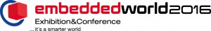 embedded world 2016 logo